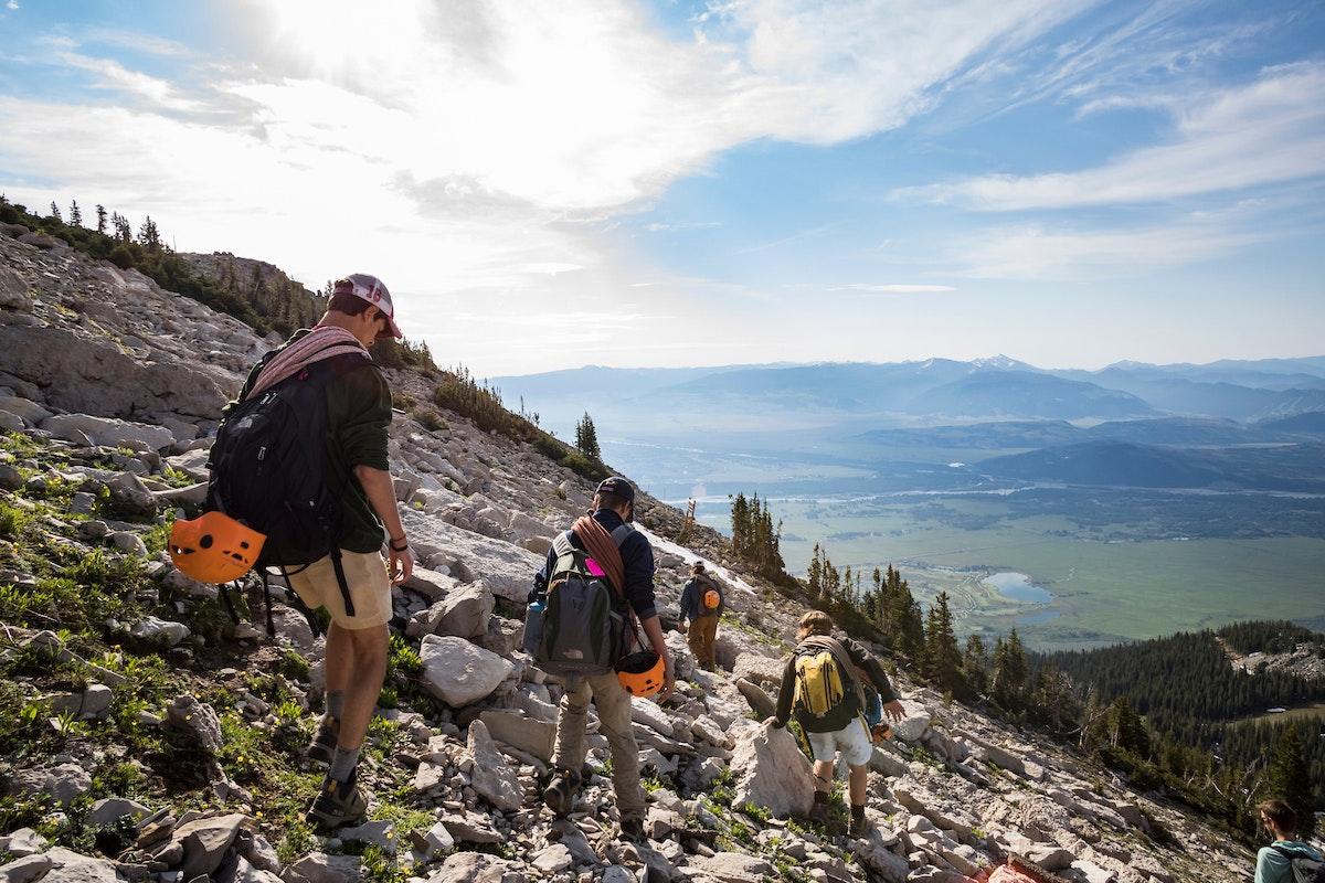 Jh Rock Climb Hike