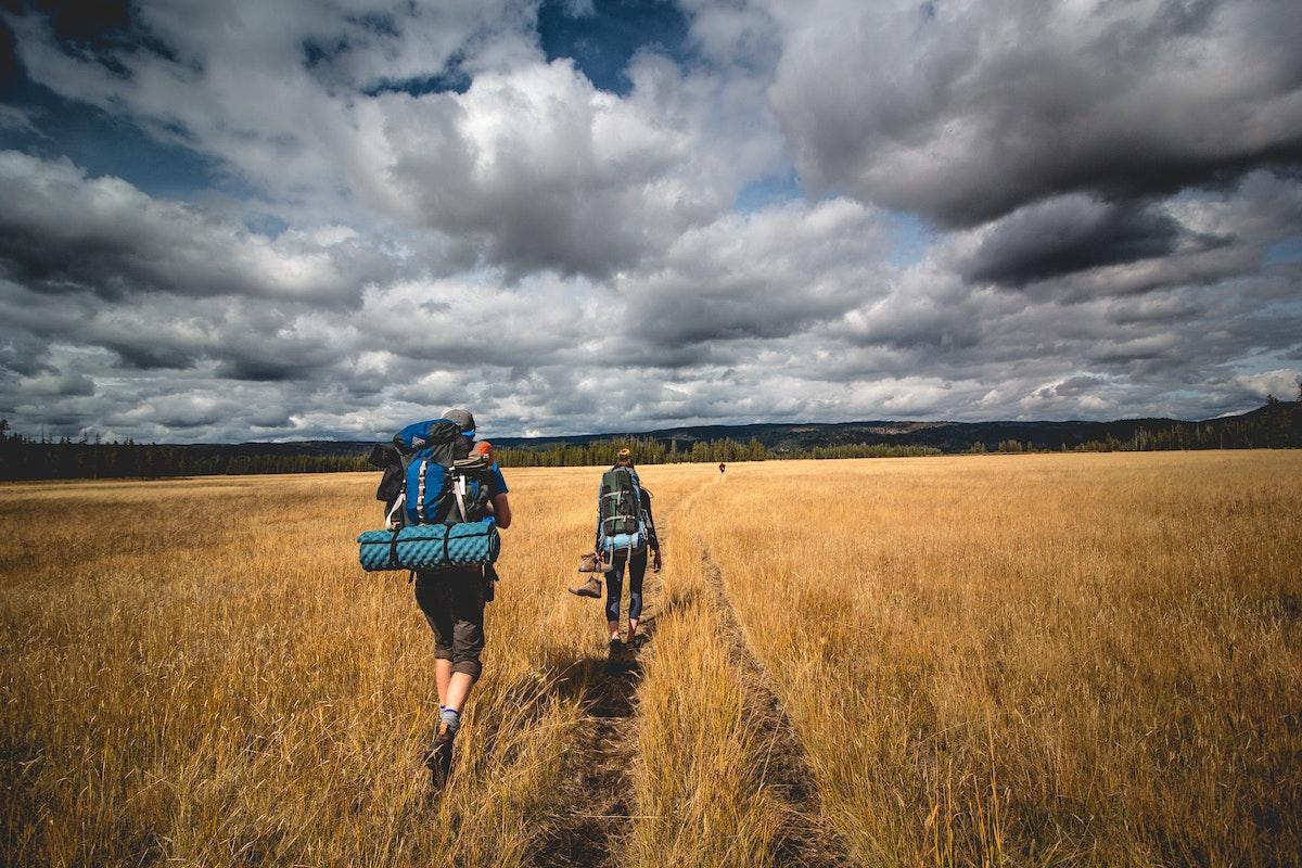 Jh Summer Couple Hiking Plains