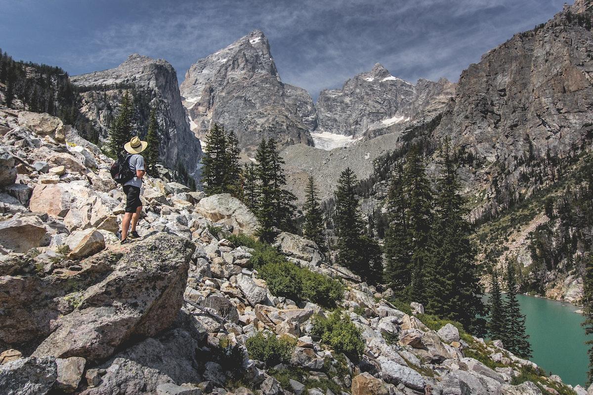 Jh Summer Scenic Mountain Hike