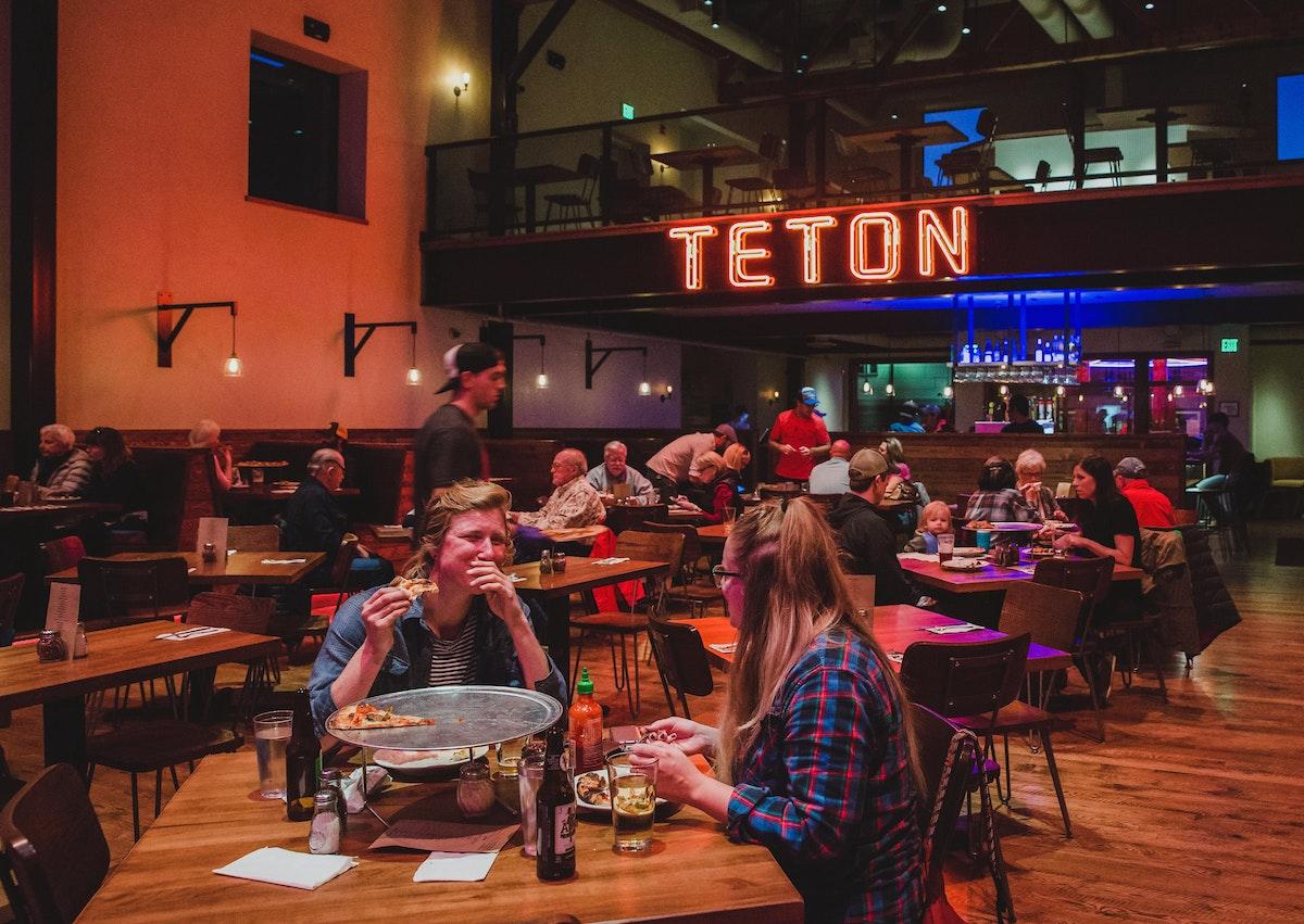 Jh Teton Pizza Bar Restaurant