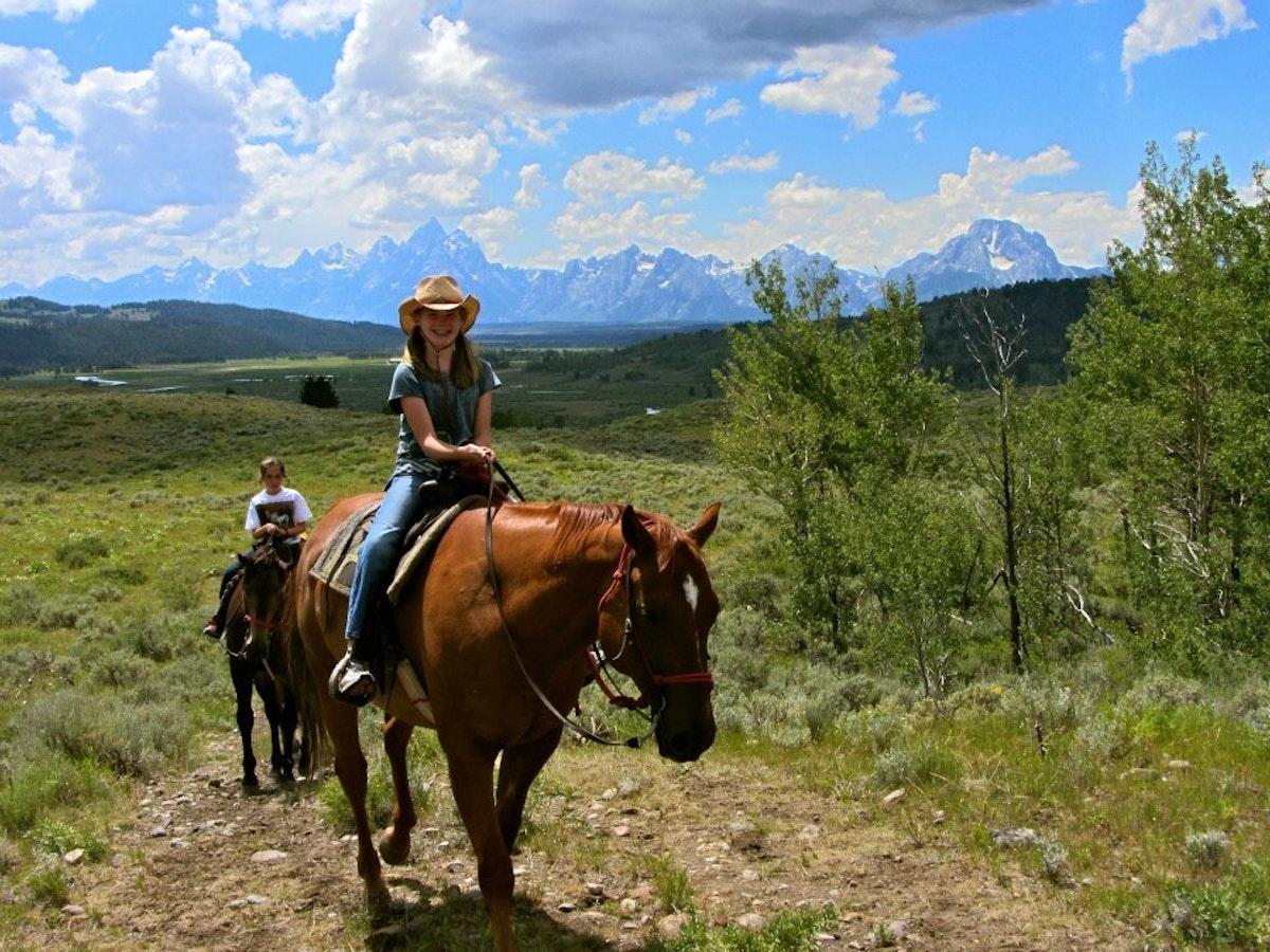 Jh Child Horseback Ride