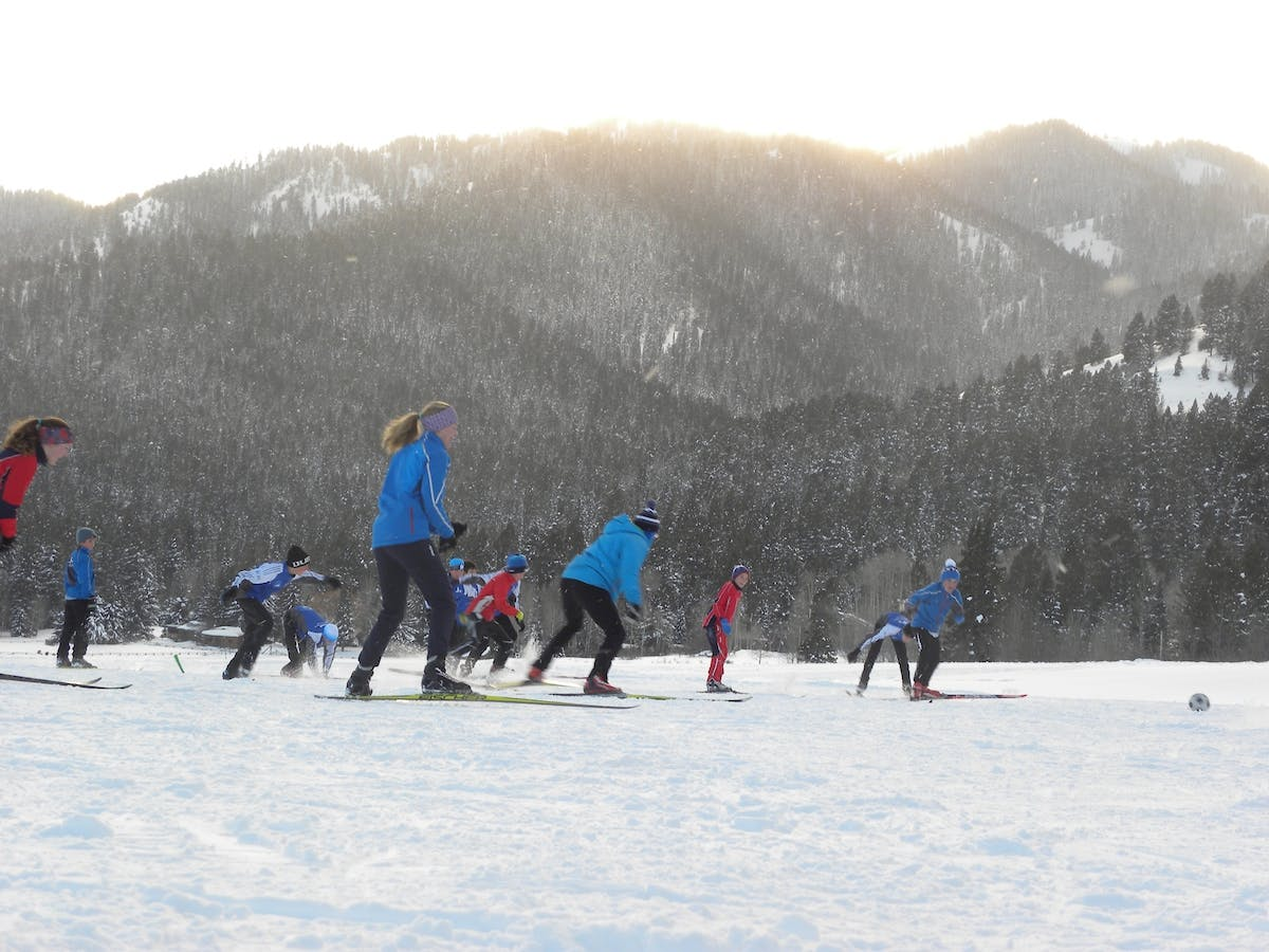 Jhsc Nordic Athletes Training At Trail Creek Nordic Center Wilson Wy Jpg