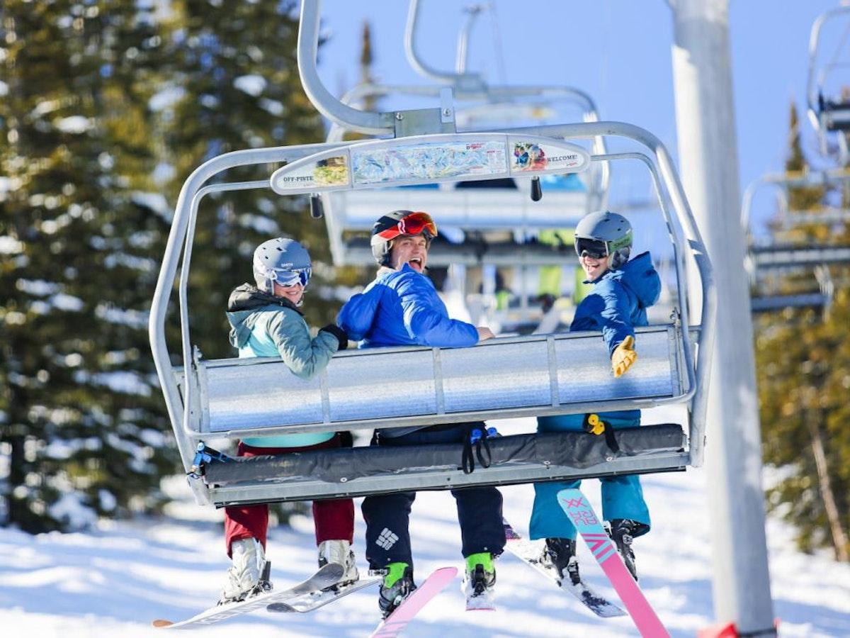 Skiing At Jhmr  Large